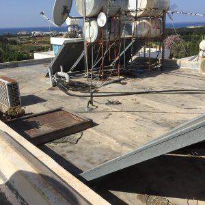 a leaking roof paphos