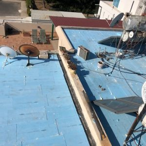 a leaking roof